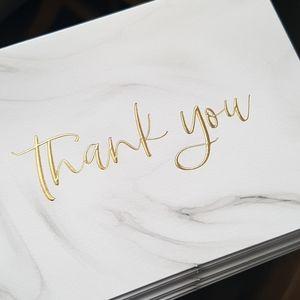 NEW 32 Pcs Thank You Cards & Envelopes